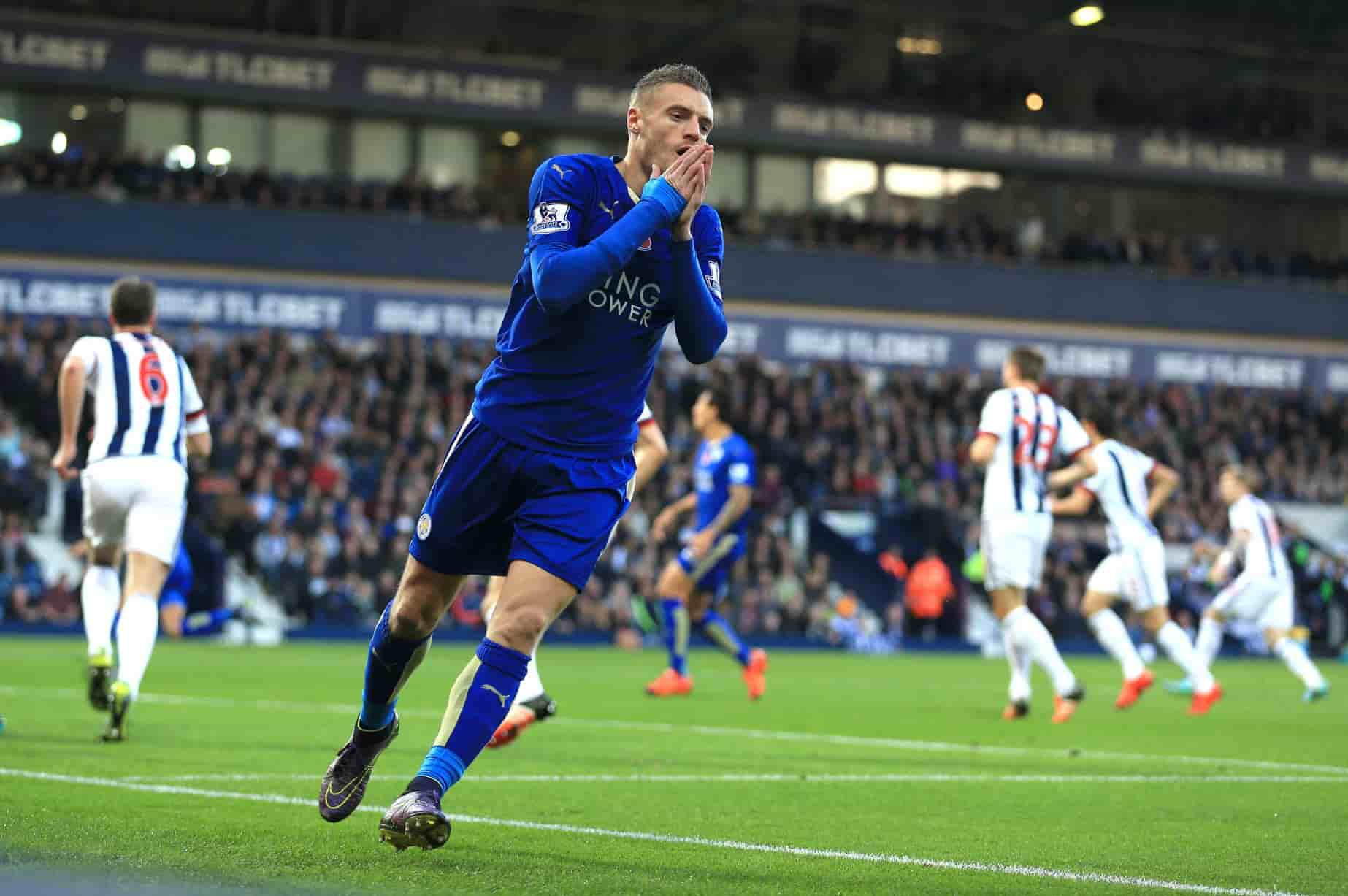 Vardy - Leicester vs West Brom 18/10/2017